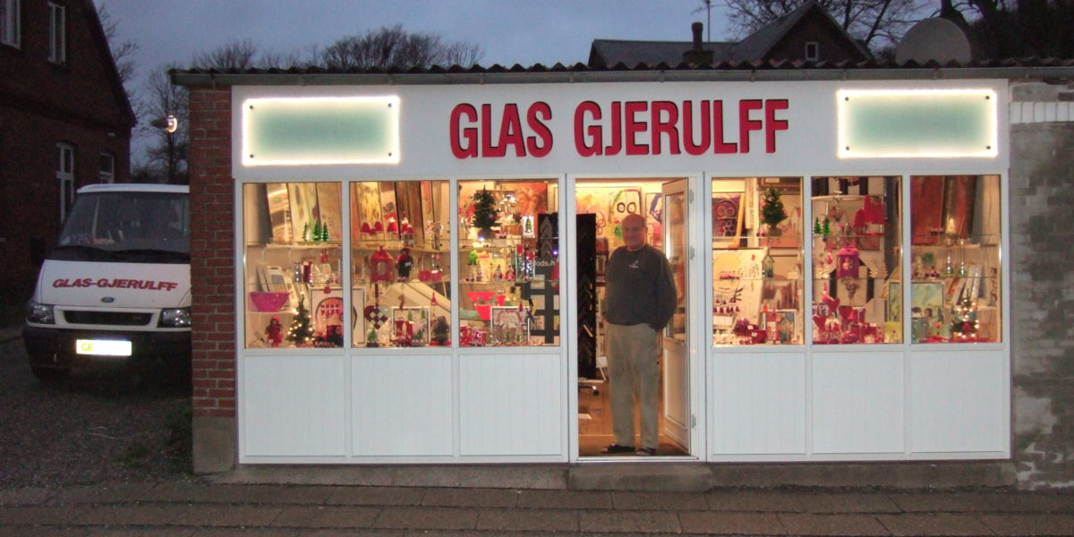 glas gjerulff gamle butik
